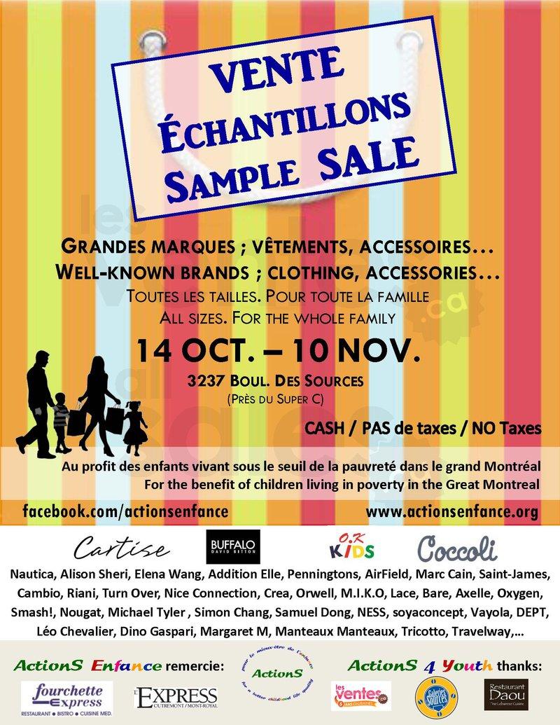 DDO - Sample Sale Well-Known Brands | allsales.ca