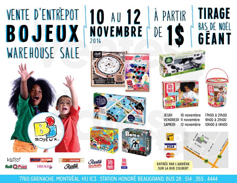 Bojeux Toys Warehouse Sale Allsales Ca
