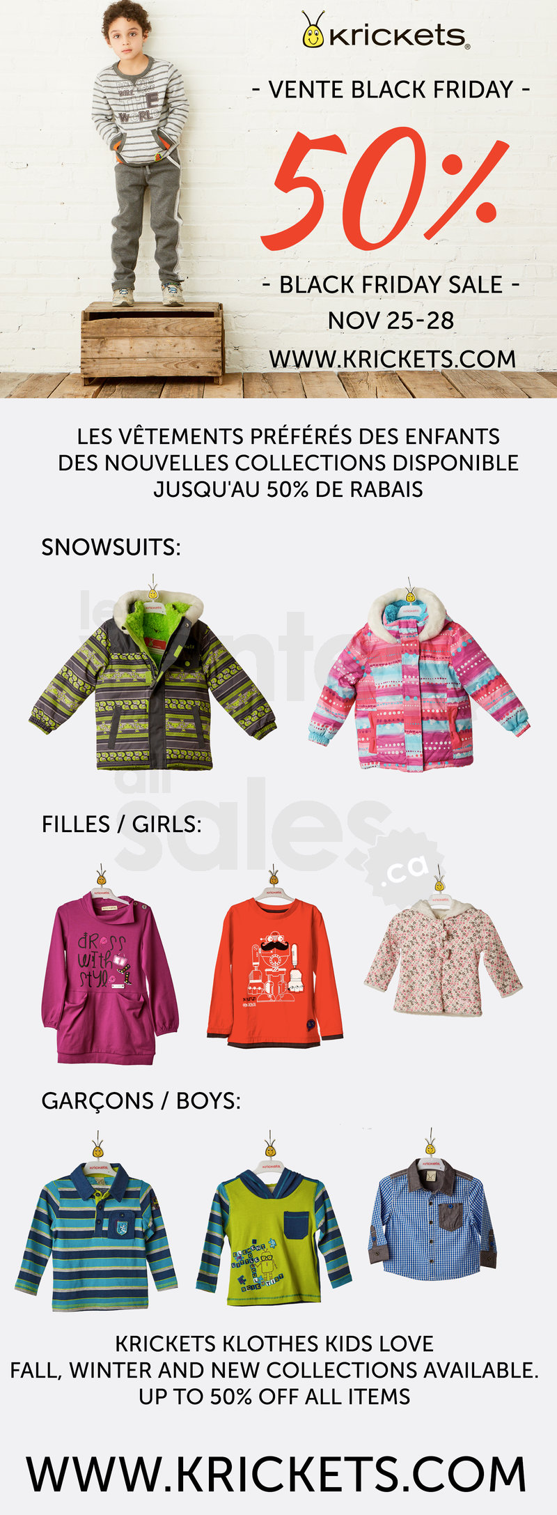 Kids Winter Coats Black Friday Sales