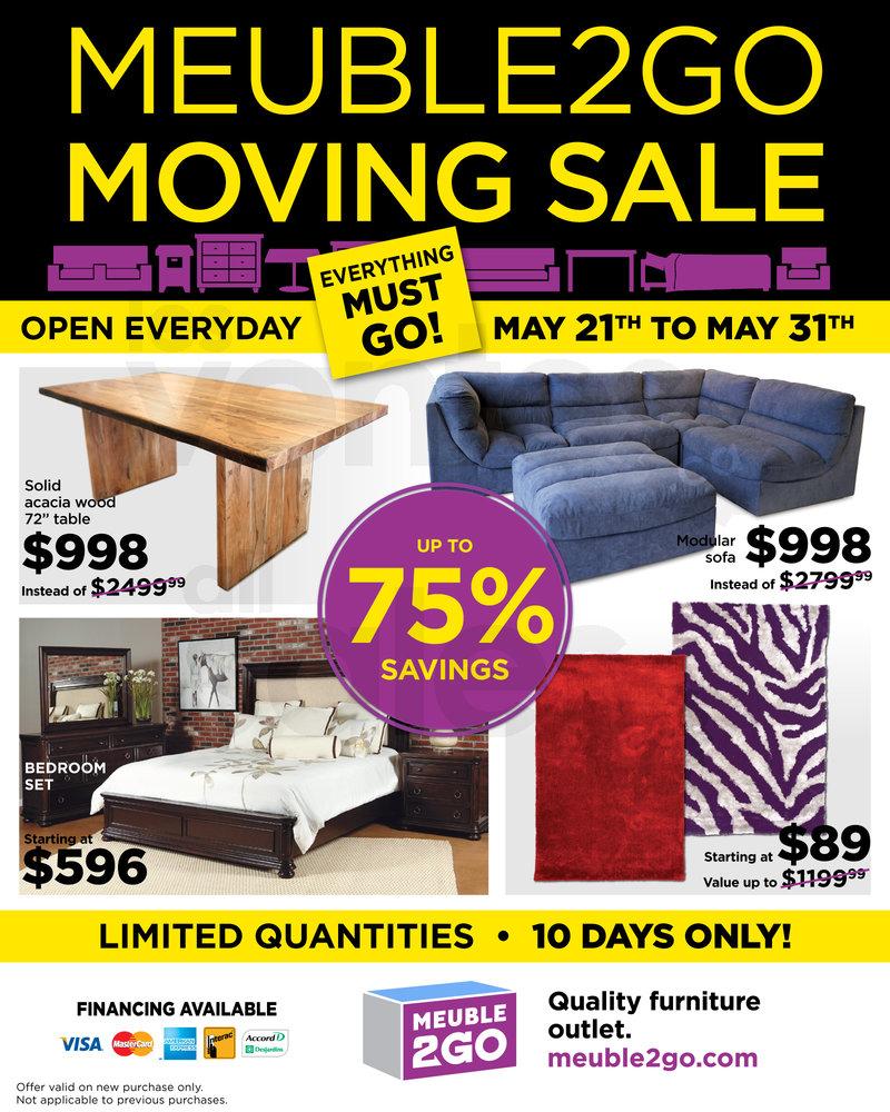 Furniture mattress moving sale 75 for Mega meuble langelier