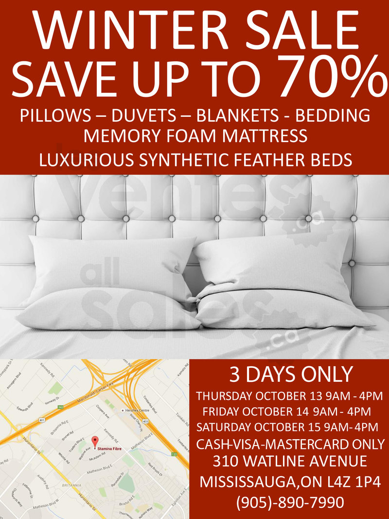 Bedding Warehouse Sale Save Up To 70 Allsales Ca