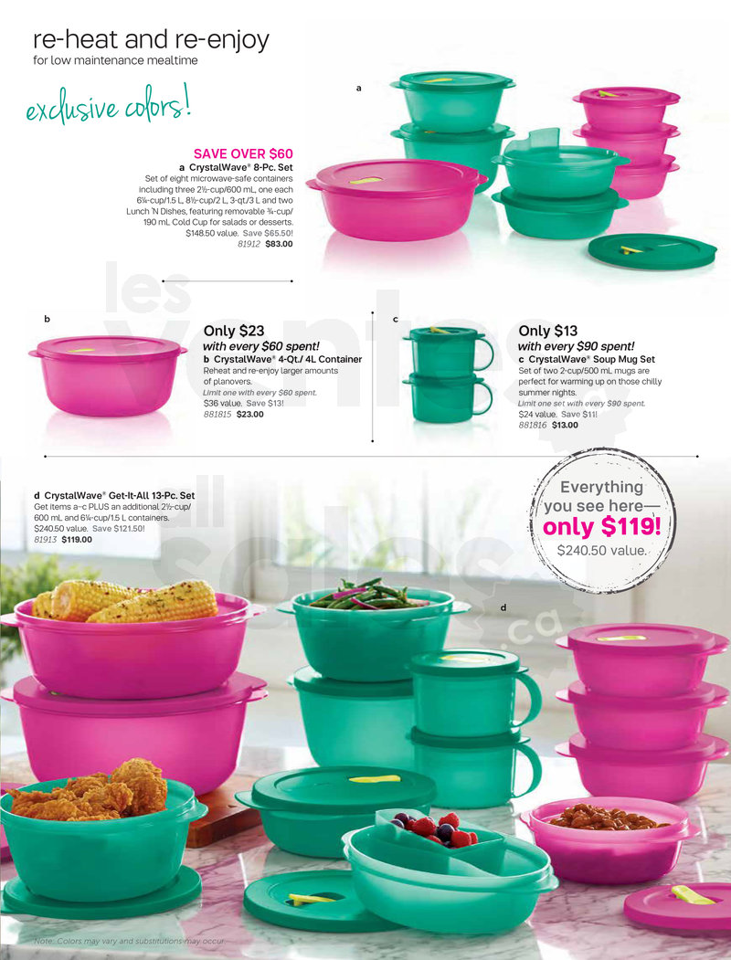 Tupperware Sale