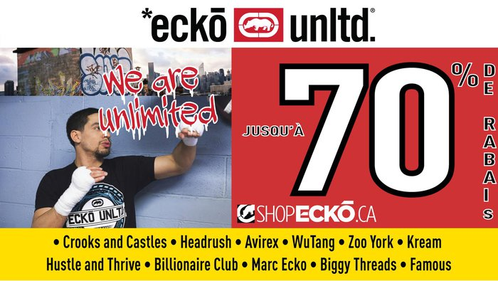 Find Ecko Unltd Outlet in Vacaville with Address, Phone number from Yahoo US Local. Includes Ecko Unltd Outlet Reviews, maps & directions to Ecko Unltd Outlet 4/5(9).