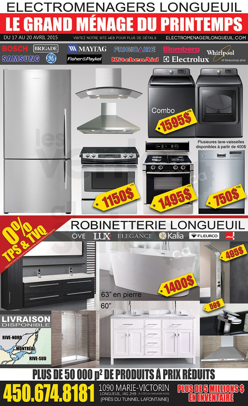 Big home appliances sale more for Liquidation electromenager lanaudiere
