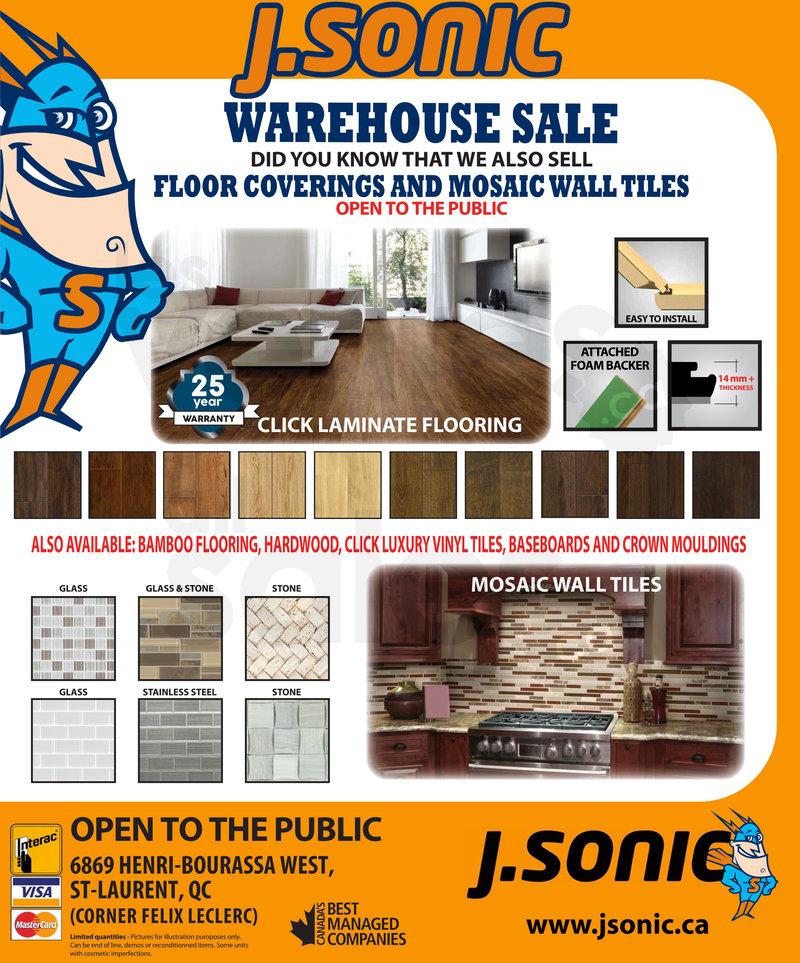 Floor coverings & mosaic tiles sale | allsales.ca