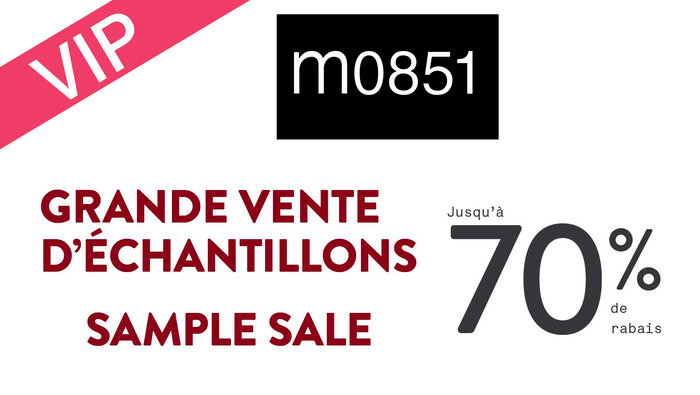 m0851 VIP sample sale up to 70% off   allsales.ca