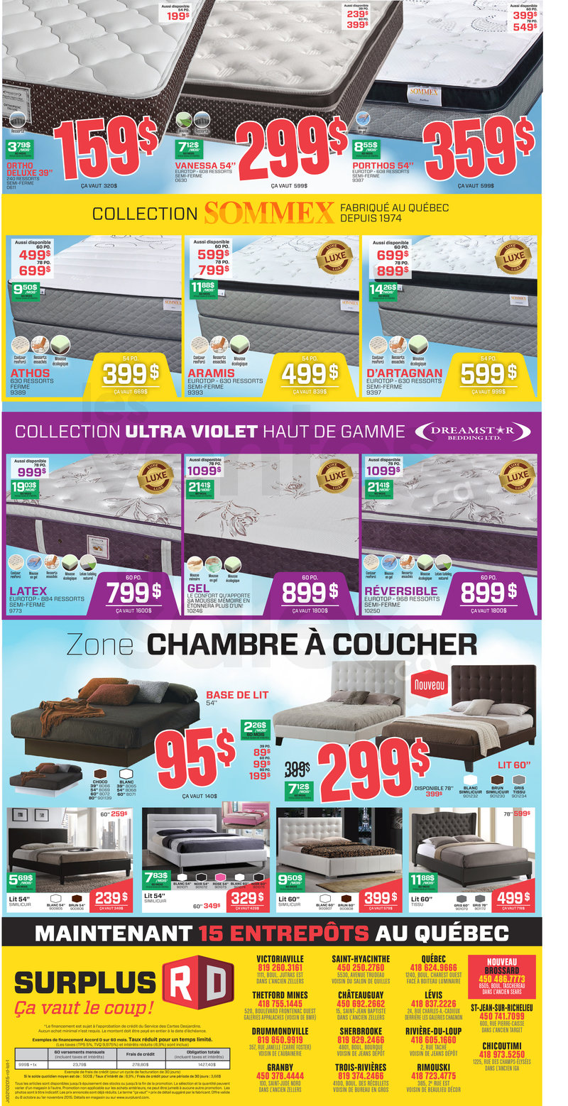 Surplus rd furniture clearance for Club piscine brossard qc