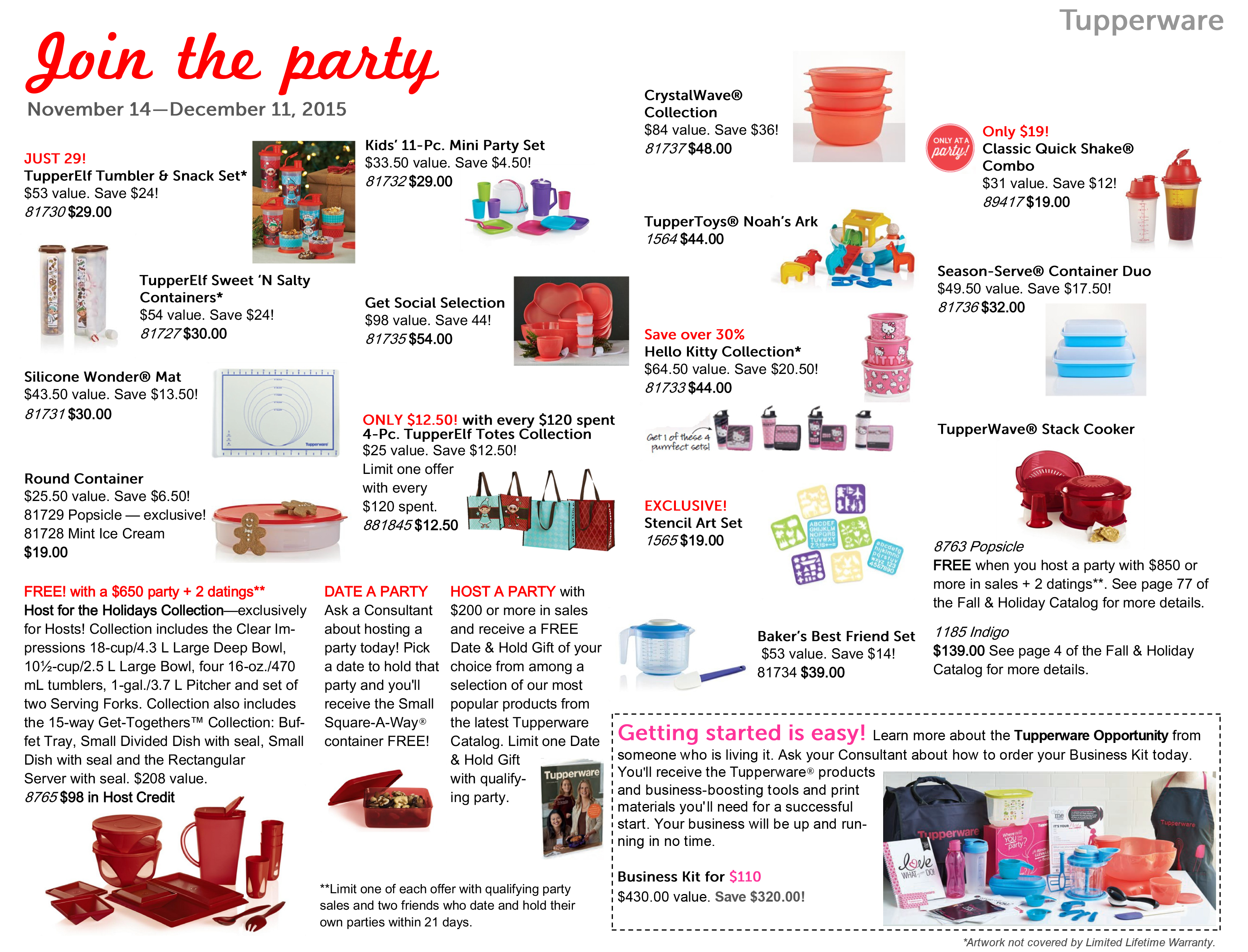 Tupperware Sets 60 Only 417 Value Allsales Ca